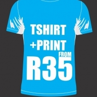 T-shirt as well as printing