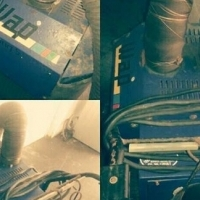 Industrial vacuum cleaner & dryer for sale.