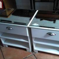 Mirror top counters