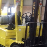 2.5 ton Hyster LP Gas Forklift