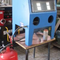 Storm Machinery Sandblasting machine with pump