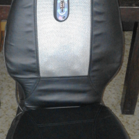 Massage Cushion attachable to Chair or Car Seat. Works on 12V.