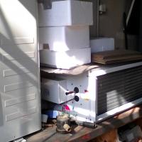 Rheem air conditioning indoor half only. 36,000 BTU. R22