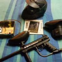 BT4-combat Paintball gun + BT rip-clip