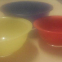 3 Jelly bowls