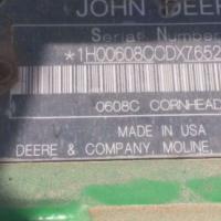 John Deere JD 608C 8 ry, plukkerkop