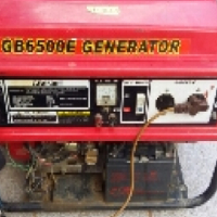 GB6500 Selfstart Generator. 6.5kw For Sale.