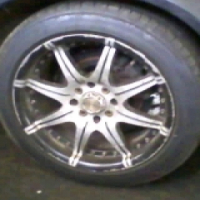 15 inch mags with tyres