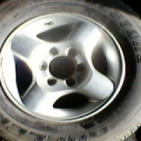 Nissan hardbody 16 inch mags with tyres