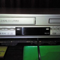 Sansui DVD/VHS Player with remote