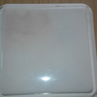Wall or Ceiling or Outdoor Light 25cm X 25cm Used one. Square Shape.