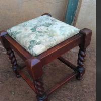 Vintage flower seat chair
