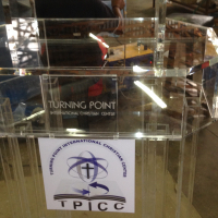 Customize a Lectern with your Company Logo