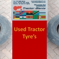 900-16 used Tyre's-Tractor