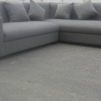 new charcoal grey couch