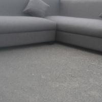 new stylish grey L shape
