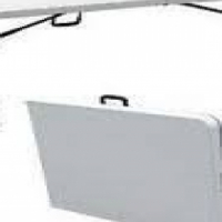 Fold up plastic trestle tables 1.8 meters for sale at a bargain price