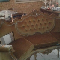 Victorian six seat lounge suite for sale