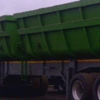 Twin bin side tipper trailer for sale