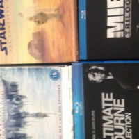 STAR WARS, STARGATE, THE BOURNE COLLECTION, MIB TRILOGY,