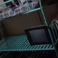 Egte Staal outydse hospitaal bunker beddens