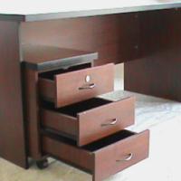 Mahogany straight desk