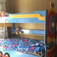 Locomotive Train Bed-Bunk Bed