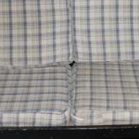 Steel couch S025105d