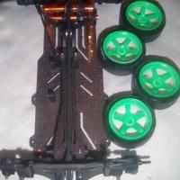 E4D-FM Carbon fibre professional drifting car