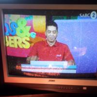 74cm colour TV
