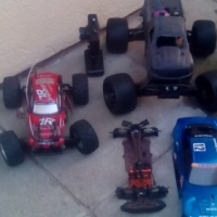 1:Hpi savage 2:pro drift car 3:battery operated car