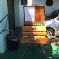 Tripod stand +  multi box + 2 x 12 ft carp hunter Rods