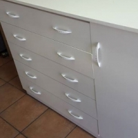 New Chest of Drawers with Side Cabinet