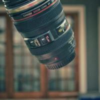 Camera Lens Flask