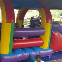2 in 1 Jump n Slide jumping castle on hire