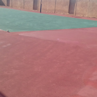 TENNIS COURTS REFUBSHMENTS, 0715073069 BASCKEBALL COURTS RENOVATIONS, and NETBALL COURTS REPAINTING