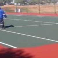 Repainting and painting of tennis courts, netball courts repainting, basketball0715073069. Courts re