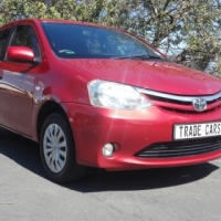 2012 Toyota Etios 1.5 Xs 5Dr