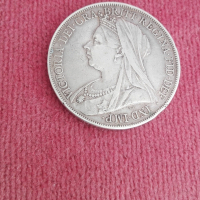 Victoria. Dei. Gra. Britt. Regina. Fid. Def. Ind. ( Dragon ): 1900