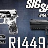 Sig Sauer P320 45acp