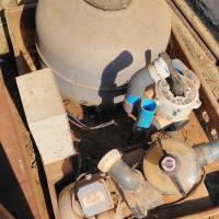 1.1kw pump, filter , enclosure , db