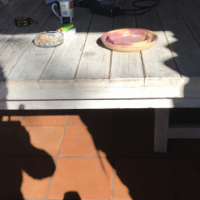 Outdoor Patio Table and chair set