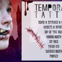 Temporary Tattoos - Skin Safe - Stick on Peel off