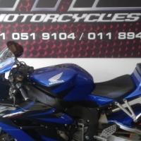 2004 Honda CBR 1000 RR Blue