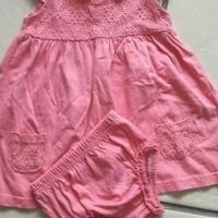 Baby girl dress and panty