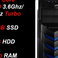 Custom Built Pro Gaming (GTX 1070 8GB, Z270 Mobo) i7-7700, 240GB SSD + 1TB HDD, 16Gb RAM PC