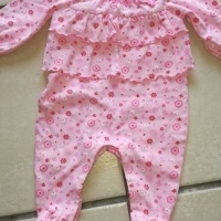 Baby clothing. Boy and girl