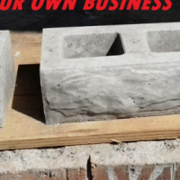 Manufacture your own FACE BRICKS!