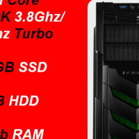 Custom Built Elite Gaming (GTX 1080 8GB, Z270 Mobo) i5-7600K, 480GB SSD + 3TB HDD, 24Gb RAM PC