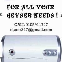 Burst GEYSER? No problem!